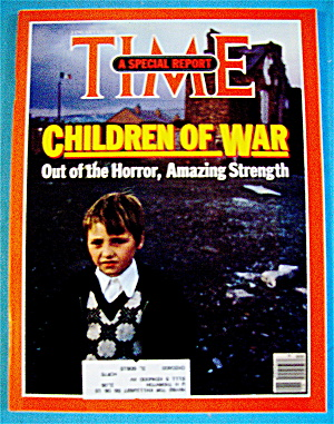 Time Magazine-january 11, 1982-children Of War