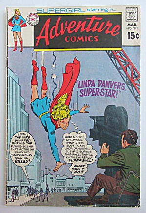 Adventure Comics March 1970 Linda Danvers Super Star