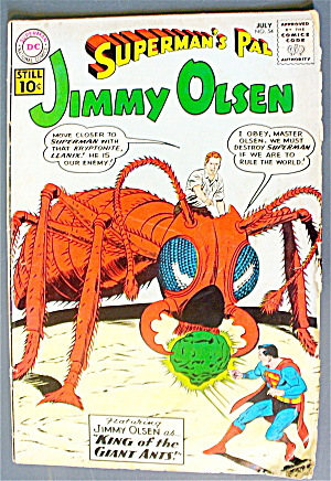 Jimmy Olsen #54 July 1961 King Of The Giant Ants