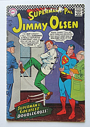 Superman's Pal Jimmy Olsen Comic June 1967 Double Cross