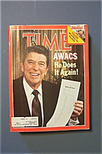Time Magazine - Nov 9, 1981 - Awacs He Does It Again