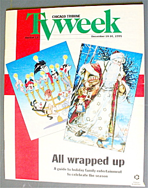 Tv Week December 10-16, 1995 All Wrapped Up