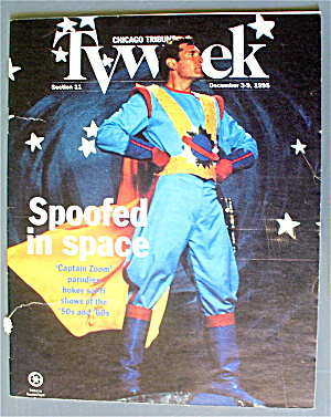 Tv Week December 3-9, 1995 Spoofed In Space  (Image1)