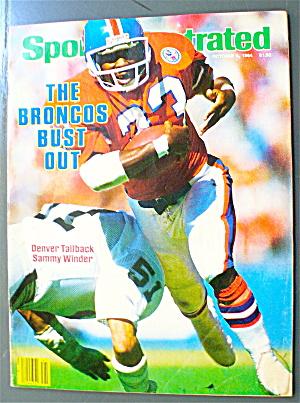 Sports Illustrated October 8, 1984 Sammy Winder (Image1)