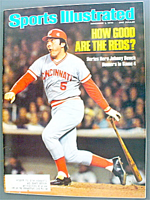 Sports Illustrated November 1, 1976 Johnny Bench (Image1)