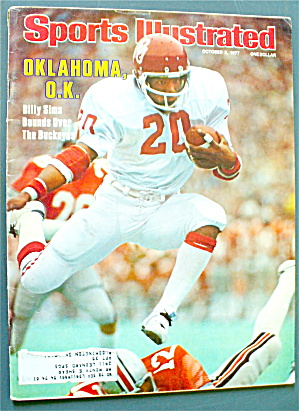 Sports Illustrated October 3, 1977 Billy Sims (Image1)