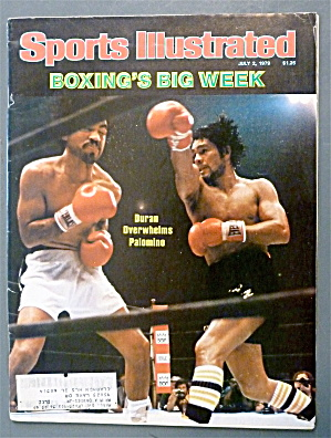 Sport Illustrated July 2, 1979 Duran & Palomino (Image1)