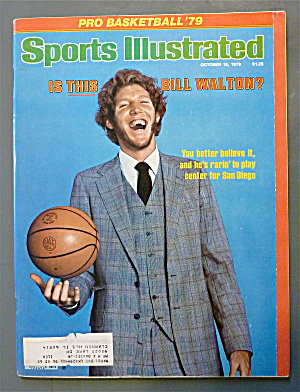 Sport Illustrated October 15, 1979 Is This Bill Walton? (Image1)