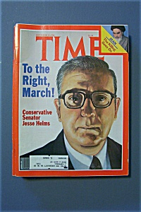 Time Magazine - Sept 14, 1981 - Conservative Sen. Helms