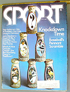 Sports Magazine October 1973 Knockdown Time (Image1)