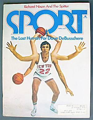 Sports Magazine April 1974 Dave DeBusschere (Image1)