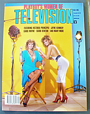 Playboy Magazine 1984 Playboy's Women Of Television