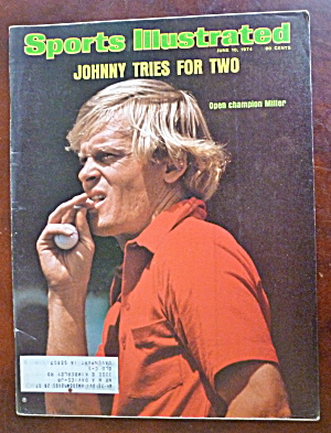 Sports Illustrated Magazine-June 10, 1974-Johnny Miller (Image1)