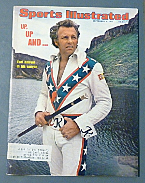 Sports Illustrated Magazine-Sept 2, 1974 Evel Knievel (Image1)
