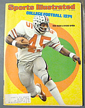 Sports Illustrated Magazine-Sept 9, 1974-Archie Griffin (Image1)