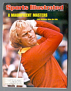 Sports Illustrated Magazine-April 21, 1975-Jack  (Image1)