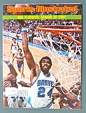 Sports Illustrated Magazine-April 28, 1975-NBA Playoffs (Image1)