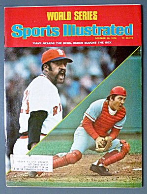 Sports Illustrated Magazine-October 20, 1975-Reds & Sox (Image1)