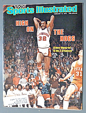 Sports Illustrated Magazine-February 13, 1978-Sidney  (Image1)