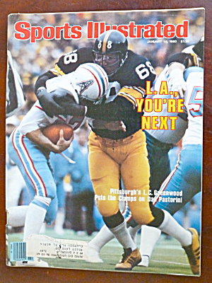 Sports Illustrated Magazine Jan 14, 1980 Greenwood (Image1)