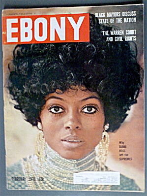 Ebony Magazine February 1970 Diana Ross