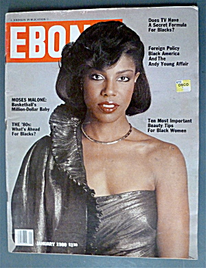Ebony Magazine January 1980 Moses Malone