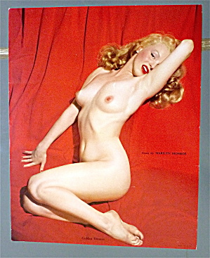 Using Wow, Marilyn monroe nude golden dreams poster it!!