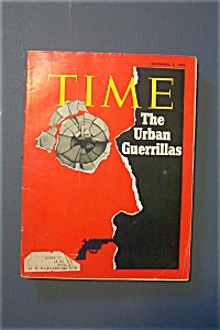 Time Magazine - November 2, 1970 - The Urban Guerrillas
