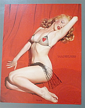 Marilyn Monroe Pin Up 1950's Entrancing