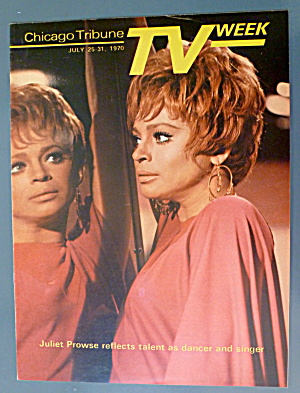 Tv Week July 25-31, 1970 Juliet Prowse