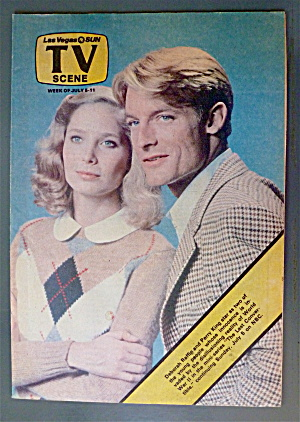Tv Scene July 5-11, 1981 Perry King & Deborah Raffin