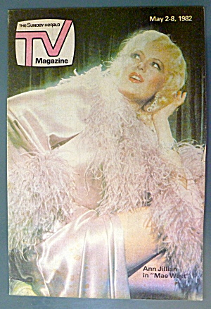 Tv Magazine May 2-8, 1982 Ann Jillian