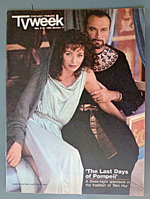 Tv Week May 6-12, 1984 Ben Hur (Down & Nero)