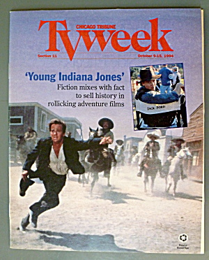 Tv Week October 9-15, 1994 Young Indiana Jones