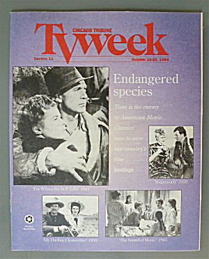 Tv Week October 16-22, 1994 Classic Movies
