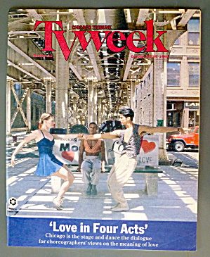 Tv Week October 23-29, 1994 Love In Four Acts