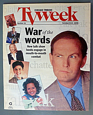 Tv Week October 8-14, 1995 War Of Words