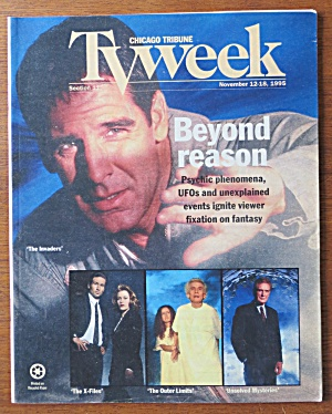 TV Week November 12-18, 1995 The Invaders (Image1)