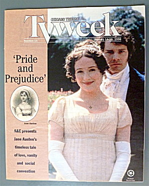 Tv Week January 14-20, 1996 Jane Austen