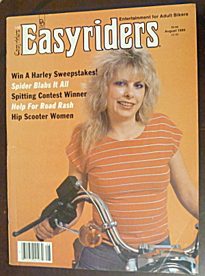 Easyriders August 1985 Spitting Contest