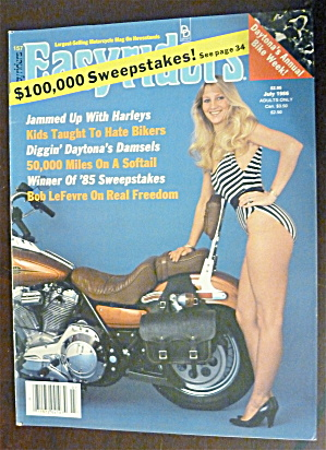 Easyriders July 1986 Daytona Damsels