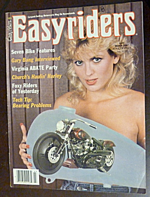 Easyriders March 1987 Foxy Riders