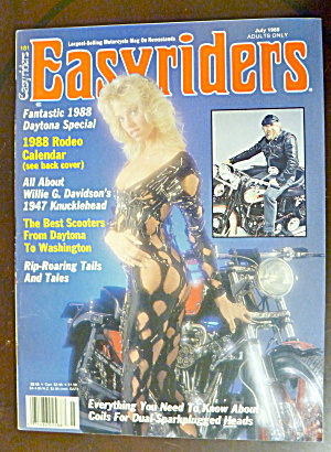 Easyriders July 1988 Daytona
