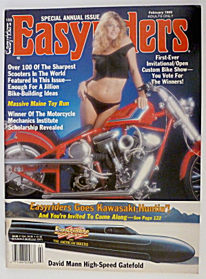 Easyriders February 1989 Kawasaki Huntin'