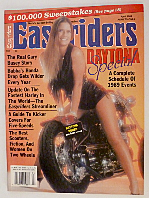 Easyriders April 1989 Fastest Harley