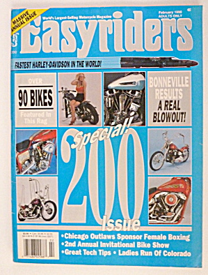 Easyriders February 1990 Bike Show
