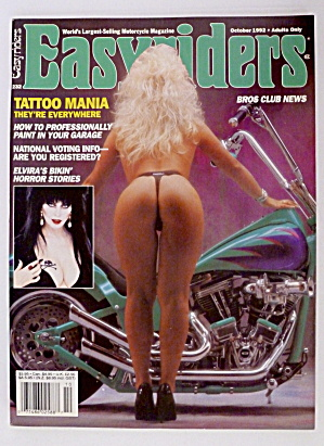 Easyriders October 1992 Elvira's Story