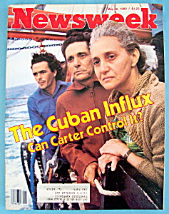 Newsweek Magazine - May 26, 1980 - Cuban Influx