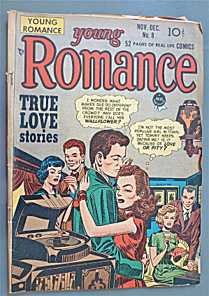 Young Romance Comic #8 November-December 1948 (Image1)