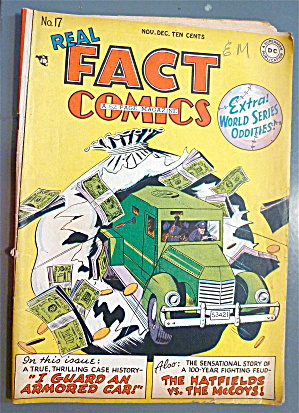 Real Fact Comic #17 November 1948 An Armored Car (Image1)